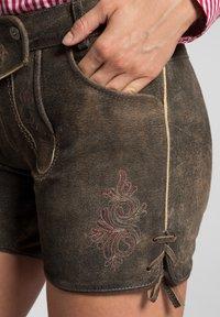 Spieth & Wensky - MIA - Leather trousers - braun - 3