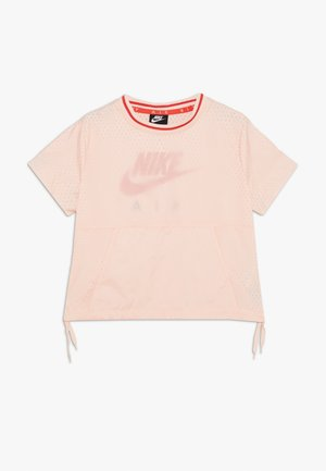 Camiseta estampada - washed coral/track red
