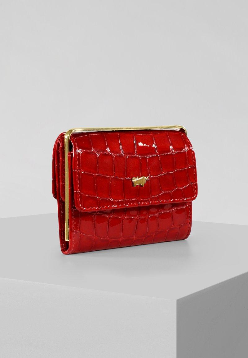 Braun Büffel - VERONA  - Wallet - red