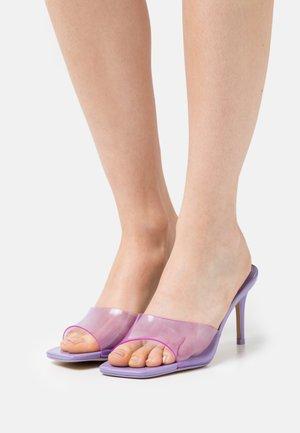 ACAECLYA - Heeled mules - purple