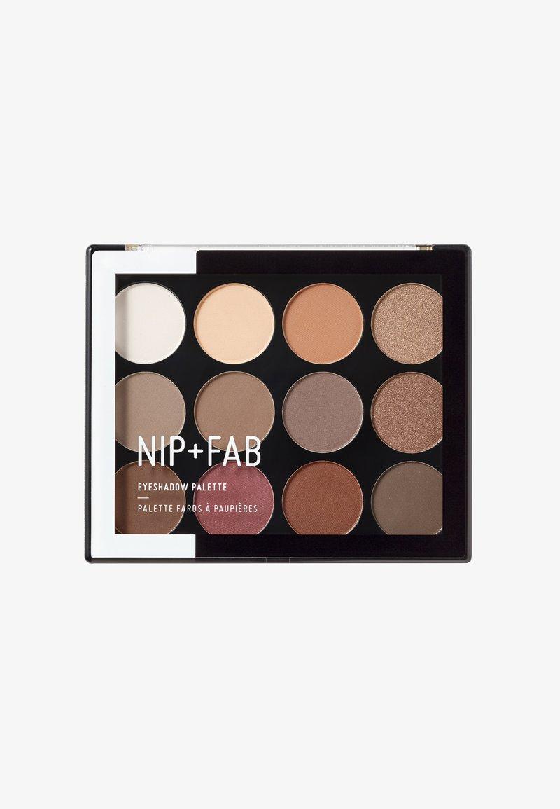 Nip+Fab - EYESHADOW PALETTE - Eyeshadow palette - sculpted