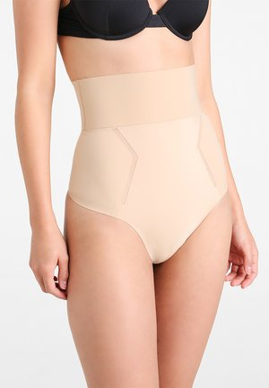 THONG HIGH WAIST - Shapewear - beige