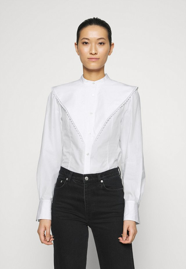 BLOUSE - Skjortebluser - white light