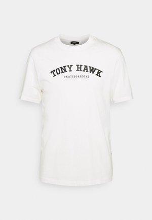 NYJAH UNISEX - T-shirt print - white alyssum