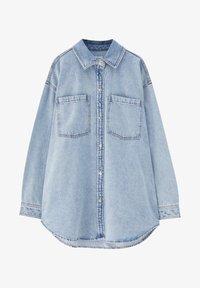 PULL&BEAR - Button-down blouse - blue - 5