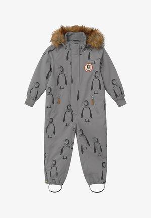 KEBNEKAISE PENGUIN - Snowsuit - grey