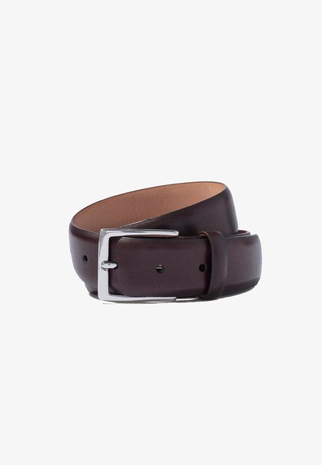 FEATHER - Belt - dark brown