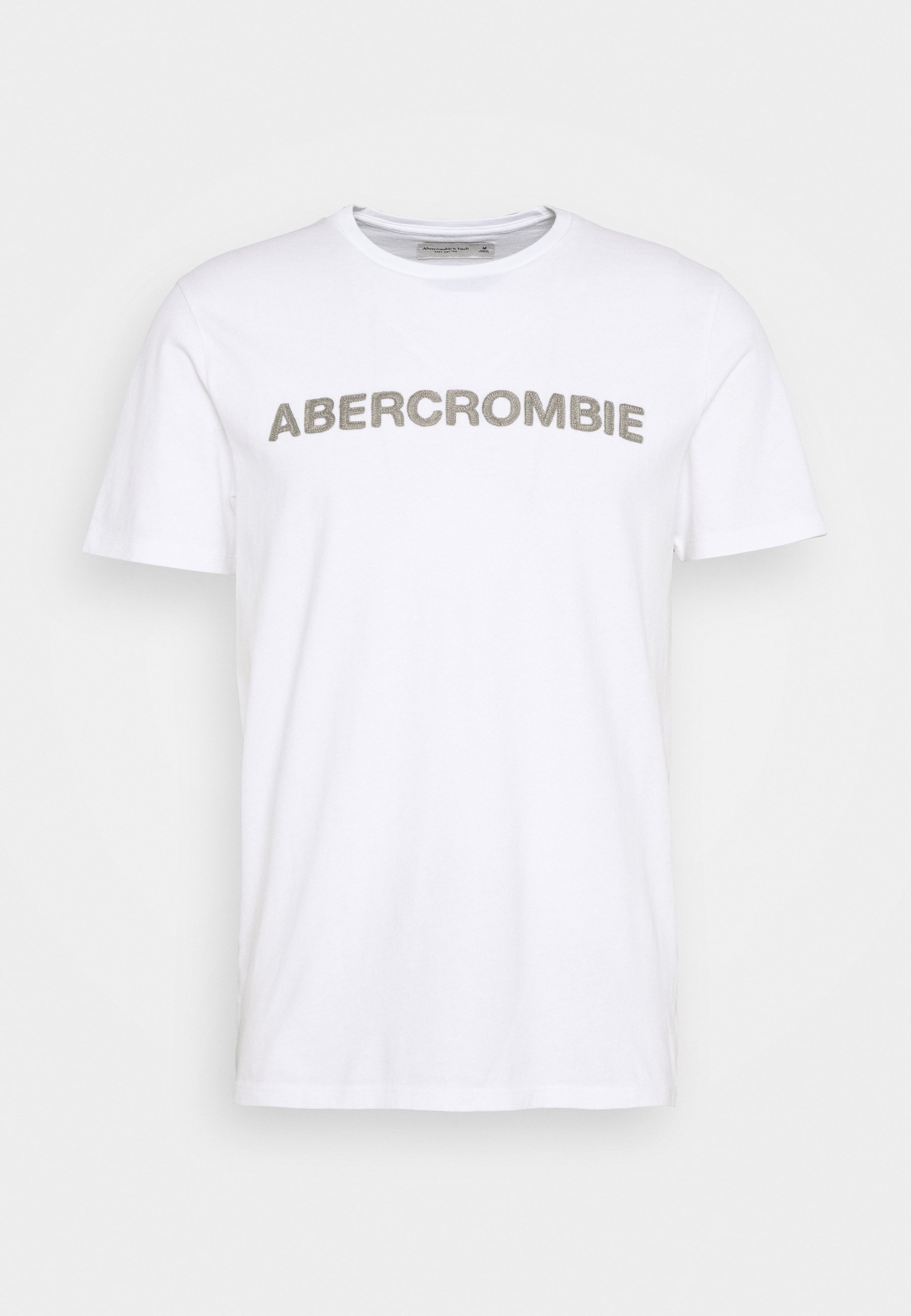 Abercrombie & Fitch T-shirts Med Print - White/hvit