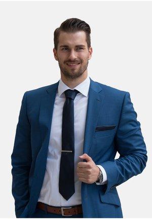 SET - Cravate - dunkelblau uni