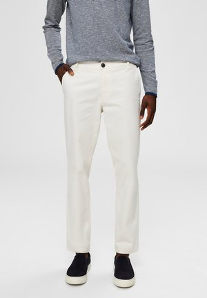 HOSE REGULAR FIT - Trousers - turtledove