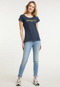 Schmuddelwedda - Print T-shirt - marine - 1