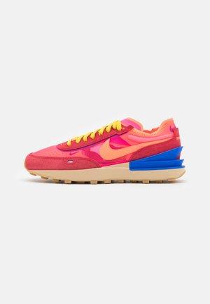 WAFFLE ONE - Trainers - hyper pink/hyper crimson/university red/racer blue/bright citron/sesame