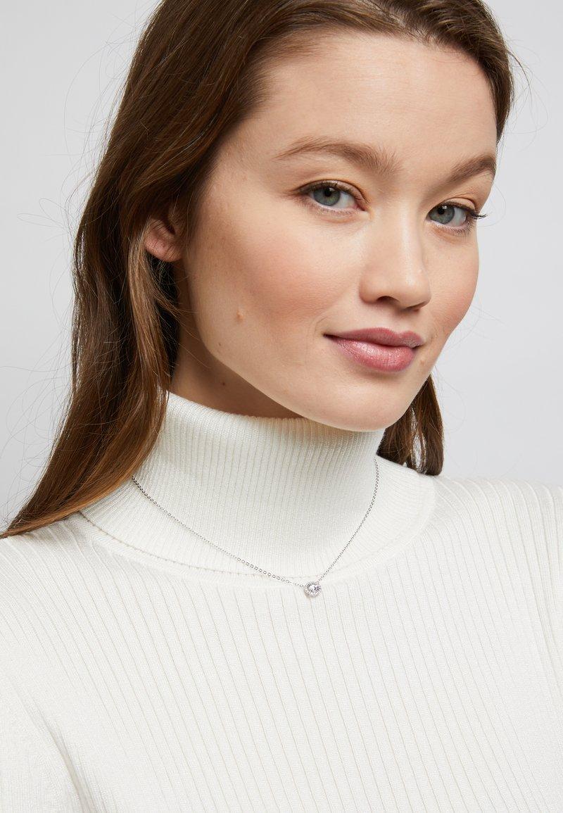 Swarovski - ANGELIC PENDANT - Necklace - silver-coloured