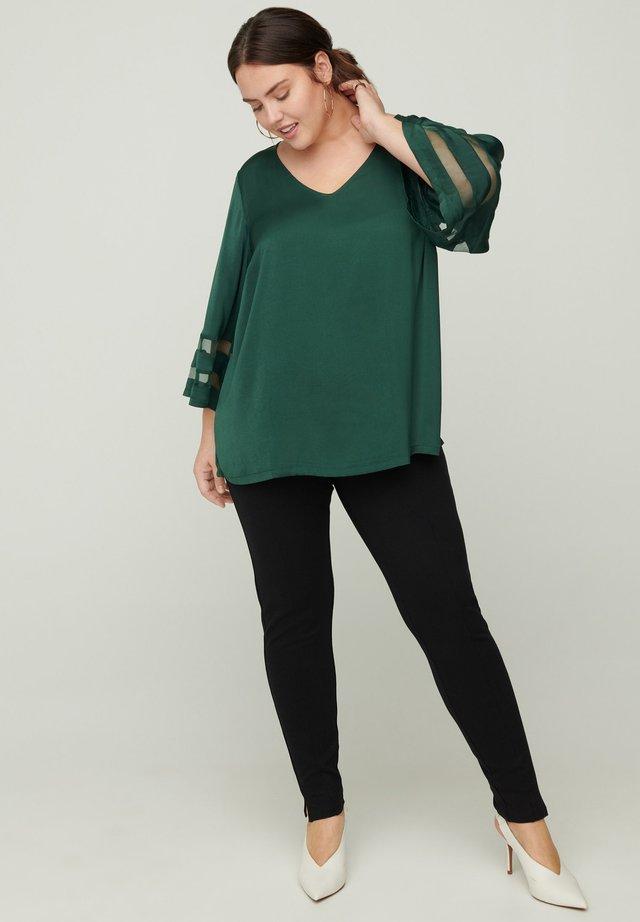 Camicetta - dark green