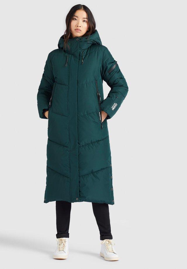 SONJE - Winter coat - dunkelgrün