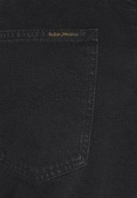 Nudie Jeans - GRITTY JACKSON - Džíny Straight Fit - black denim - 5