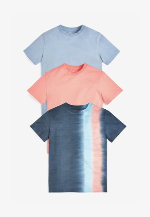 3 PACK TIE DYE - T-shirt con stampa - multi-coloured