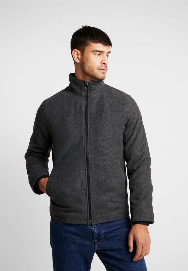 JACKET - Light jacket - charcoal grey