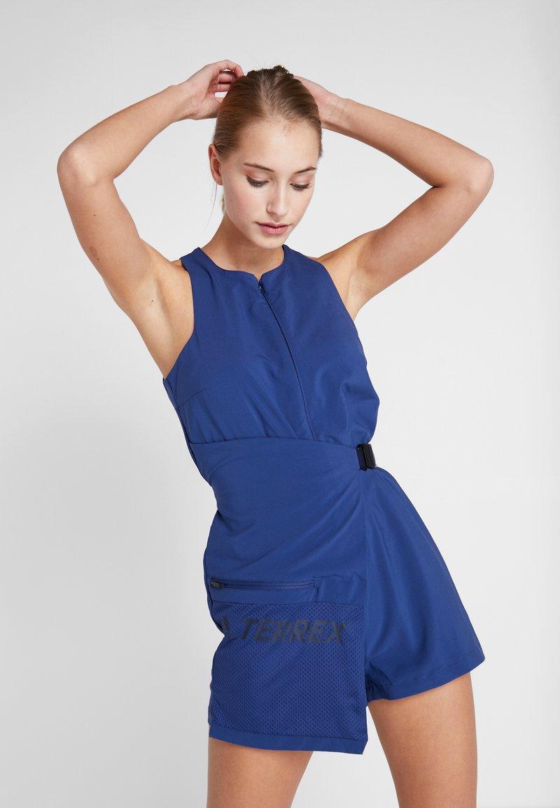 adidas Performance - TERREX HIKE JUMPSUIT - Trainingsanzug - dark blue