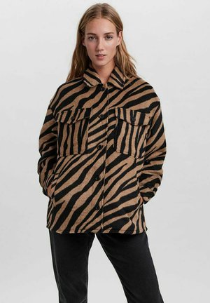 KARIERT - Short coat - tigers eye
