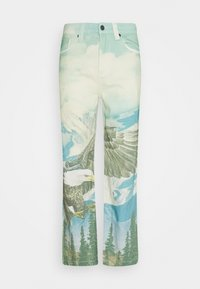Jaded London - ALASKA LANDSCAPE SKATE - Relaxed fit jeans - multi-coloured - 3