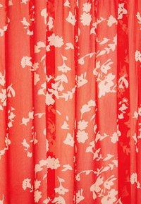 Love Copenhagen - BUGA DRESS - Maxi dress - tomato red/white - 2