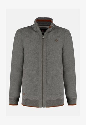 B-LED - Sweater met rits - grey