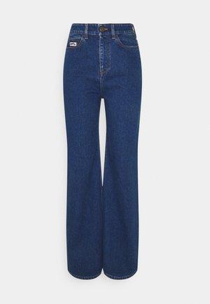 5 POCKET - Flared Jeans - degradable blue