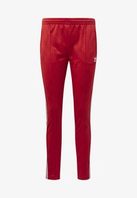 adidas Originals - SST TRACKSUIT BOTTOMS - Tracksuit bottoms - red - 4