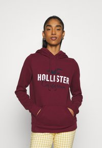 Hollister Co. - TECH CORE  - Sweatshirt - bordeaux - 0