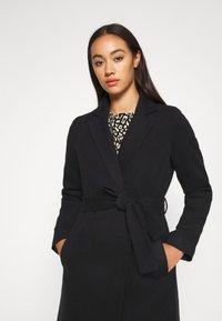 Vila - VIPOKU COAT - Classic coat - black - 3