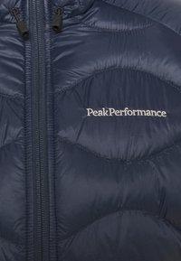 Peak Performance - HELIUM HOOD JACKET - Gewatteerde jas - blue shadow - 5