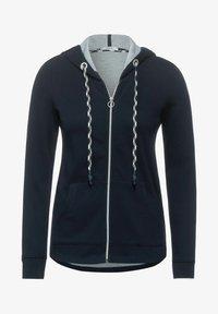 Cecil - MIT DOUBLEFACE - Zip-up hoodie - blau - 3