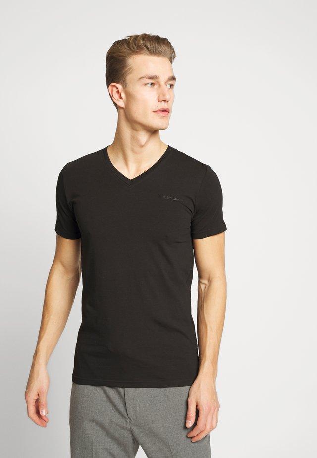 AWAX - T-shirt basique - noir