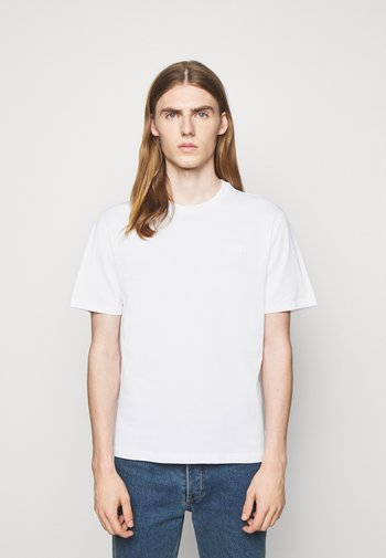 DALE LOGO PATCH - Basic T-shirt - white