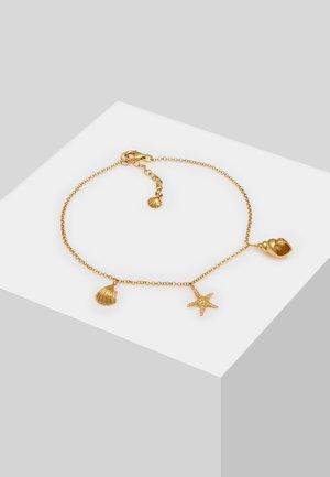 ANKLET SHELL STARFISH - Bracelet - gold