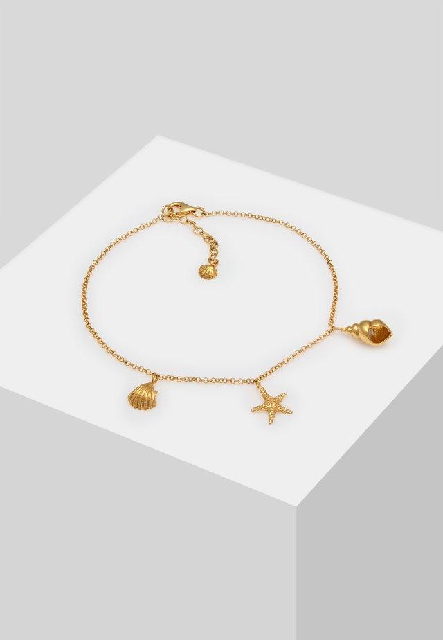 FUSSSCHMUCK - Armband - gold