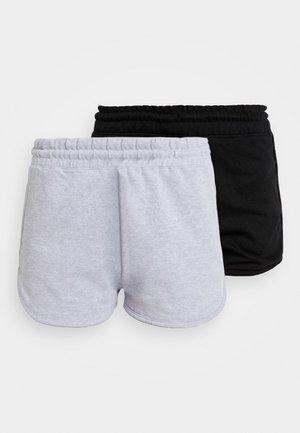 RUNNER 2 PACK - Pantaloni sportivi - black/grey