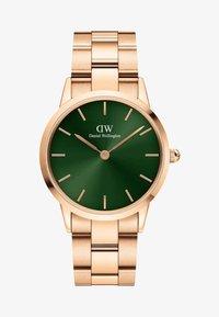 Daniel Wellington - Iconic Link Emerald - Horloge - rose gold - 0
