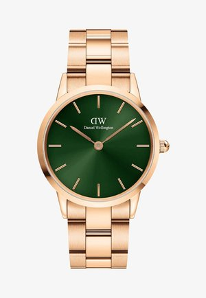 Iconic Link Emerald - Horloge - rose gold