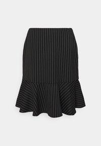 Lauren Ralph Lauren - PINSTRIPE  - Mini skirt - black/mascar - 0