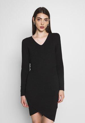 ONLCYBIL SHORT DRESS  - Pouzdrové šaty - black
