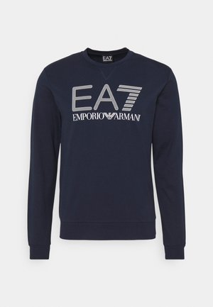Sweater - dark blue/white