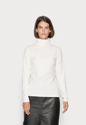 LONG SLEEVE ROLL NECK - Long sleeved top - shaded sand