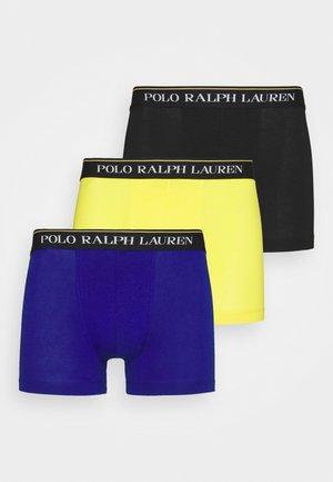 CLASSIC TRUNK 3 PACK - Underkläder - black/yellow/blue