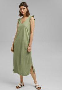 Esprit - Day dress - light khaki - 4