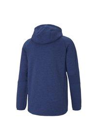 Puma - EVOSTRIPE  - veste en sweat zippée - elektro blue - 1