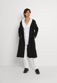 Monki - Classic coat - black - 1