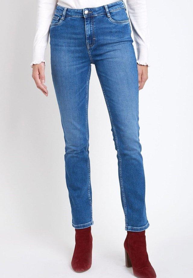 Straight leg jeans - bleu marine