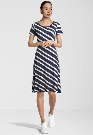 Jerseyjurk - navy stripe